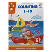 School Zone A Get Ready! Book Counting 1-10