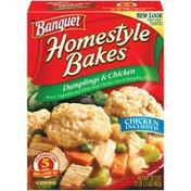 Banquet Homestyle Bakes Dumplings & Chicken