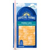 Crystal Farms Marble Jack Cheese Slices