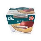 Meijer Pureed Baby Food, Apples