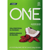 One Protein Bar, Almond Bliss Flavored