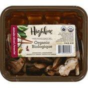 Highline Mushrooms Mushrooms, Organic, Shiitake Sliced