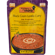 Kitchens of India Black Gram Lentils Curry, Dal Bukhara, Mild