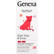 Genexa Inc. Genexa Kids' Pain & Fever Acetaminophen Oral Suspension
