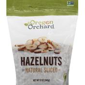 Oregon Orchard Hazelnuts, Natural Sliced