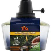 Tiki Table Torch, Adjustable Flame