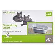 So Phresh Drawstring Cat Litter Box Liners 2XL