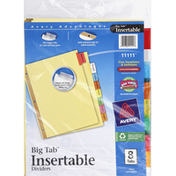 Avery Dividers, Insertable, Big Tab
