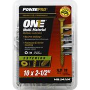 Power Pro Screw, Multi-Material, Exterior