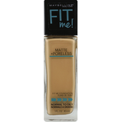 Maybelline Foundation with Clay, Matte + Poreless, Natural Beige 220