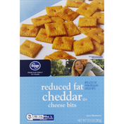Kroger Cheese Bits, Cheddar, Reduced Fat