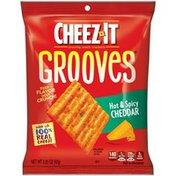 Kellogg's Cheez It Kellogg's Cheez It Crackers Grooves Hot & Spicy 3.25oz