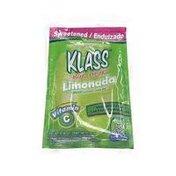 Klass Limeade Flavored Drink Mix, Limeade