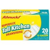 Schnucks Tall 13 Gal Kitchen Bag