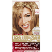 Excellence Triple Protection Color, Medium Blonde 8