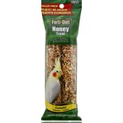 Forti-Diet Honey Treat, Cockatiel, Value Pack