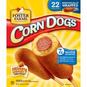 Foster Farms Corn Dogs, Honey Crunchy Flavor