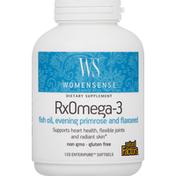 Natural Factors RxOmega-3, Enteripure Softgels