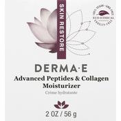 DERMA E Advanced Peptides & Collage Moisturizer, Skin Restore
