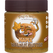 Crazy Go Nuts Walnut Butter, Maple