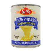 La Fe  Leche Evaporada / Evaporated Milk