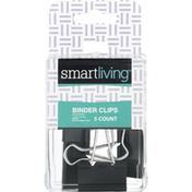 Smart Living Binder Clips, 1-1/4 Inch
