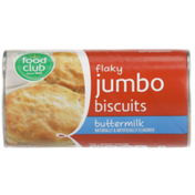 Food Club Buttermilk Flavored Flaky Jumbo Biscuits