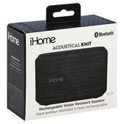 iHome Speaker, Rechargeable, Water Resistant