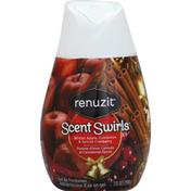 Renuzit Air Freshener, Gel, Winter Apple, Cinnamon & Spiced Cranberry