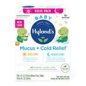 Hyland's Baby Mucus + Cold Relief Day & Night Value Pack