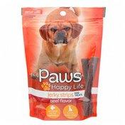 Paws Happy Life Jerky Strips Dog Treats