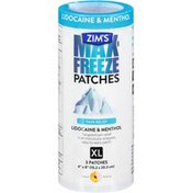 Zim's Max-Freeze Patches XL Pain Relief