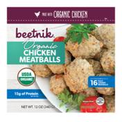 Beetnik Organic, Chicken Meatballs