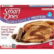 Weight Watchers Smart Beginnings French Toast with Turkey Sausage