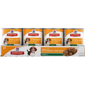 Hill's Science Diet Dog Food, Premium, Savory Stew, Puppy Less Than 1