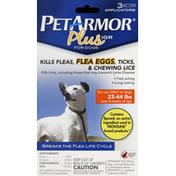 PetArmor Flea & Tick Medicine, Plus IGR, for Dogs, 23-44 lb