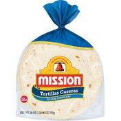 Mission Flour Tortillas Caseras