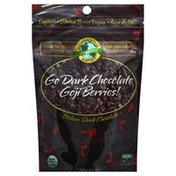 International Harvest Goji Berries!, Organic, Go Dark Chocolate
