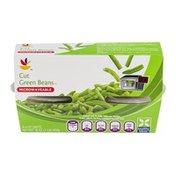 SB Cut Green Beans Cups - 4 CT