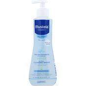 Mustela Cleansing Water, No Rinse
