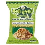 Garvi Gujarat Gram Flour Sticks, Spicy, Hot Gathiya
