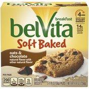 belVita Soft Baked Oats & Chocolate Breakfast Biscuits