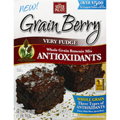 The Silver Palate Brownie Mix, Whole Grain, Very Fudge