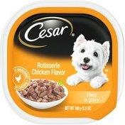 CESAR Rotisserie Chicken Flavor Filets in Gravy Canine Cuisine