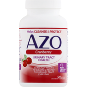 Azo Urinary Tract Health, Softgels, Cranberry