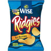 Wise Ridgies All Natural Potato Chips
