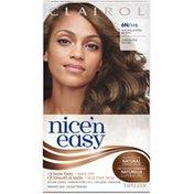 Clairol Nice 'N Easy Permanent Hair Color 6N Natural Lighter Brown 1 Kit Female Hair Color