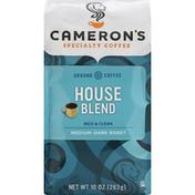 Camerons Coffee, Ground, Medium-Dark Roast, House Blend