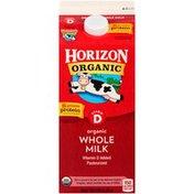 Horizon Organic Whole Vitamin D Organic Milk
