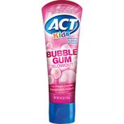 ACT Toothpaste, Anticavity Flouride, Bubble Gum Blowout